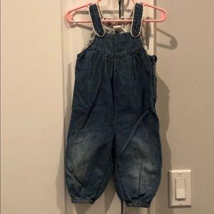 H&M Size 6-9 Jean Romper